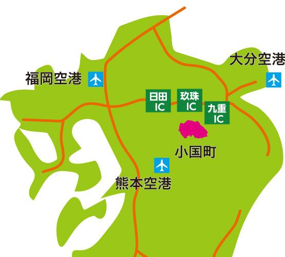 アクセスマップ 九州