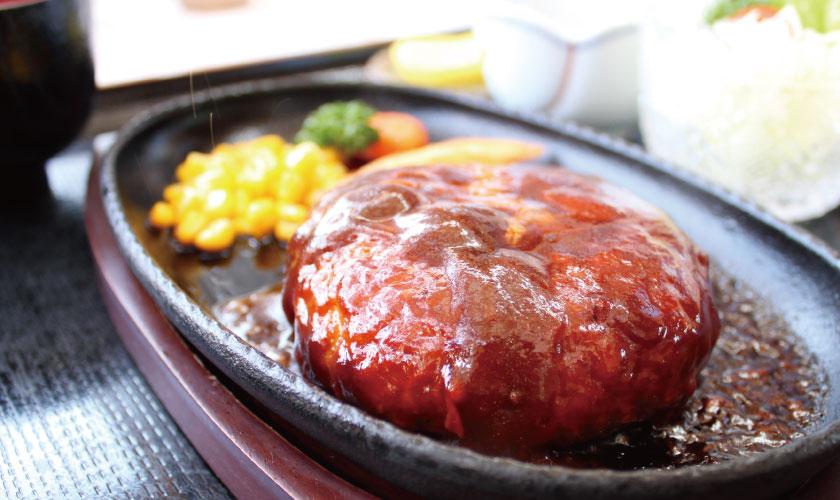 小国豚ハンバーグ定食