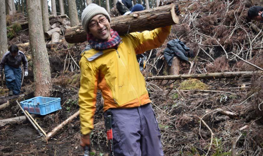 薪ボイラーと木の駅プロジェクト