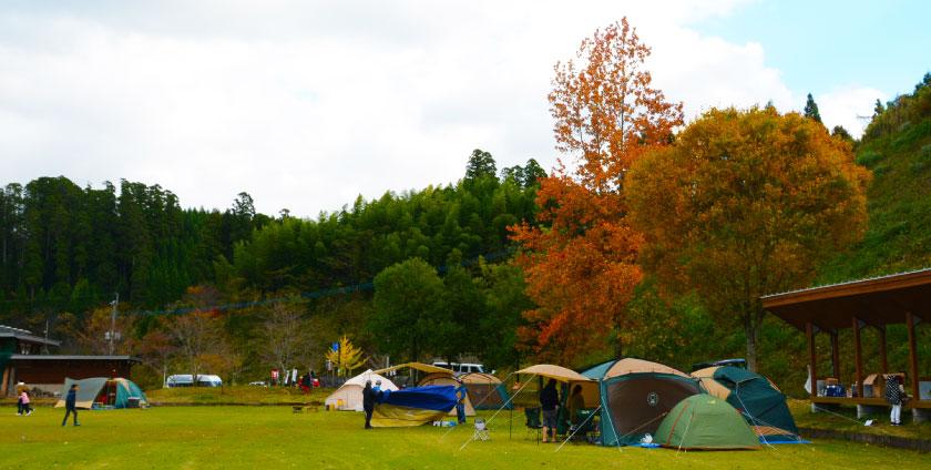 木魂館 キャンプ