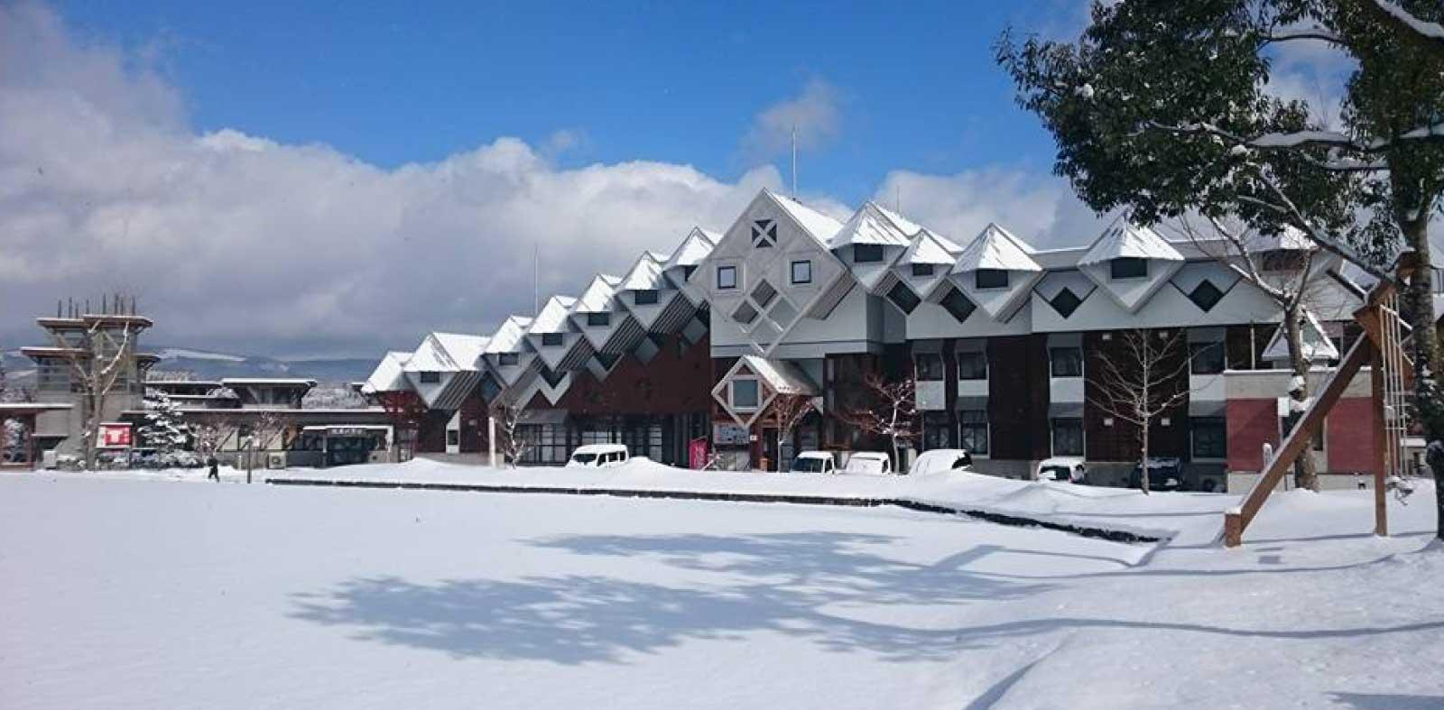 冬の木魂館